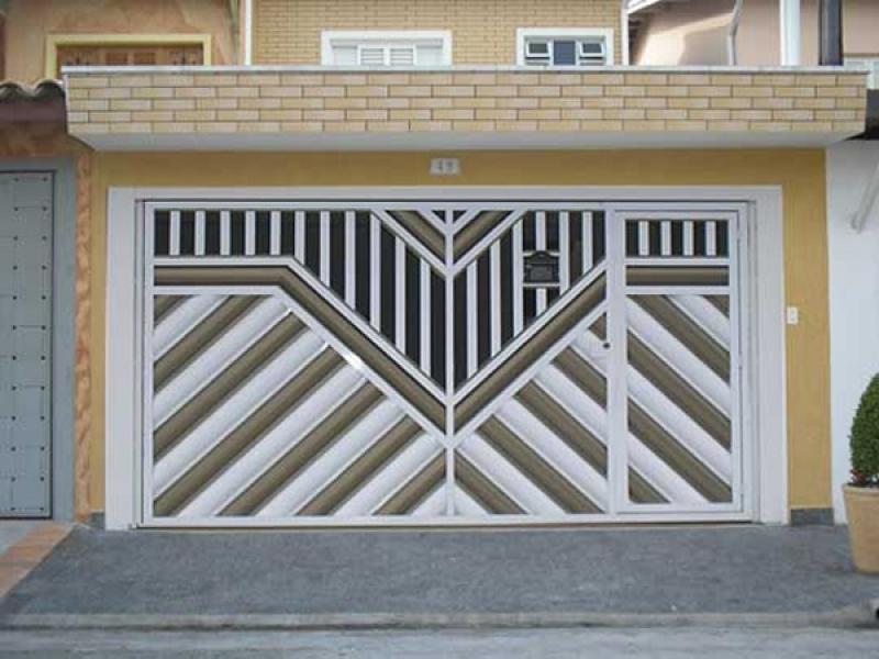 Comprar Portão Basculante de Garagem Casa Verde - Comprar Portão Basculante Dobrável
