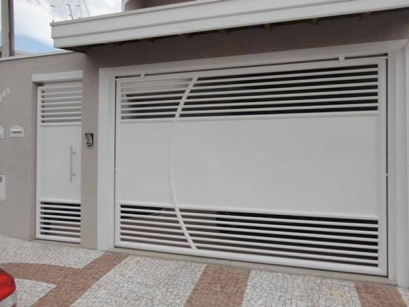 Comprar Portões Basculante Rio Grande da Serra - Comprar Portão Basculante Articulado para Garagem