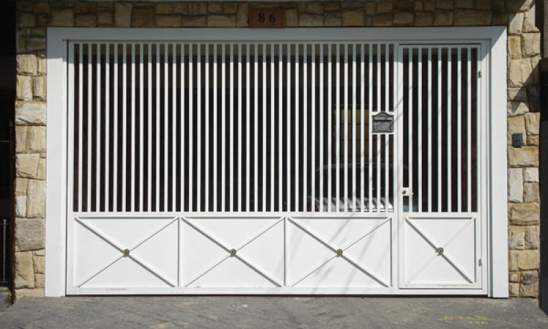 Empresa de Portão Automático Aço Galvanizado para Orçar Jardim Europa - Empresa de Portão Automático de Ferro