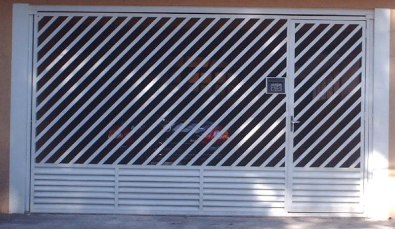 Empresa de Portão Automático Aço Galvanizado ABC - Empresa de Portão Automático de Aço