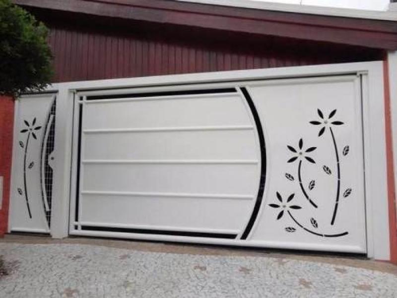 Empresa de Portão Automático de Ferro para Orçar Santo Amaro - Empresa de Portão Automático para Garagem