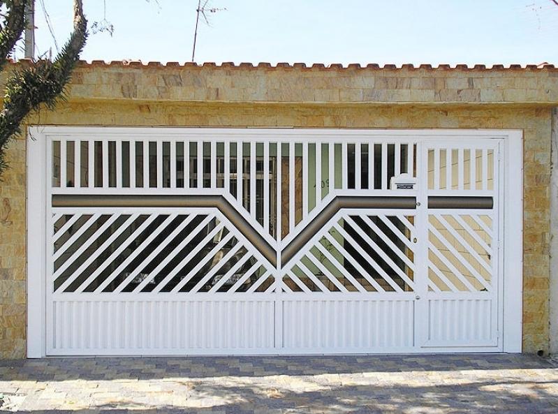 Empresa de Portão Automático de Garagem Jardim Rodolfo Pirani - Empresa de Portão Automático de Aço