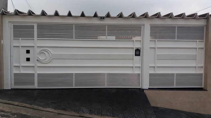 Empresa de Portão Automático Ferro Galvanizado para Orçar Barra Funda - Empresa de Portão Automático de Ferro