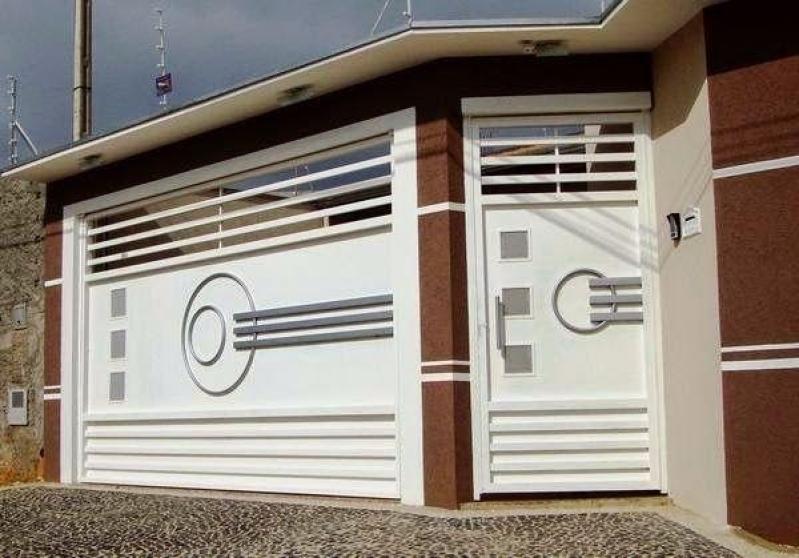Empresa de Portão Automático para Condomínio Cidade Dutra - Empresa de Portão Automático Ferro Galvanizado