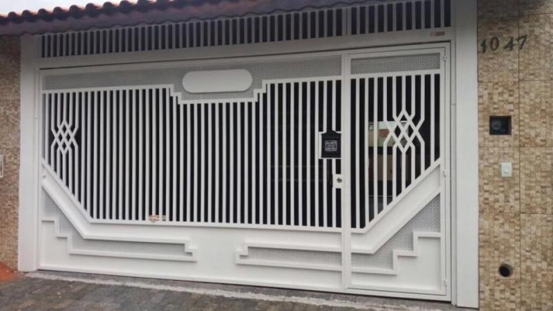 Empresa de Portão Automático Residencial Jardim Iguatemi - Empresa de Portão Automático Aço Galvanizado