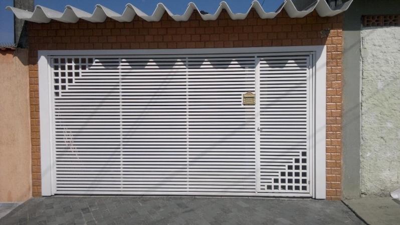 Empresas de Portão Automático Ferro Galvanizado Higienópolis - Empresa de Portão Automático de Aço
