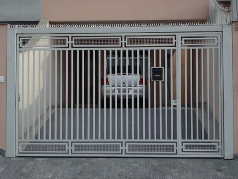 Empresas de Portões Automáticos Tubular Barra Funda - Empresa de Portão Automático Ferro Galvanizado