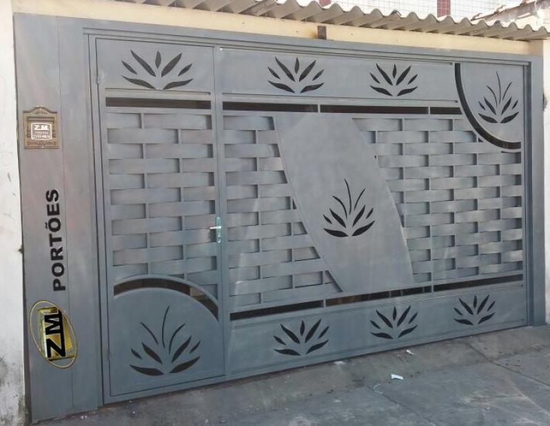 Fábrica de Portão Automático Água Branca - Fábrica de Portão para Indústria