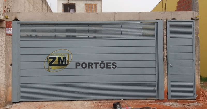 Fábrica de Portão Basculante São Lourenço da Serra - Fábrica de Portão para Indústria