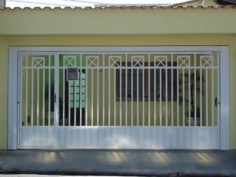 Fábrica de Portão de Correr para Cotar Parque Residencial da Lapa - Fábrica de Portão Automático