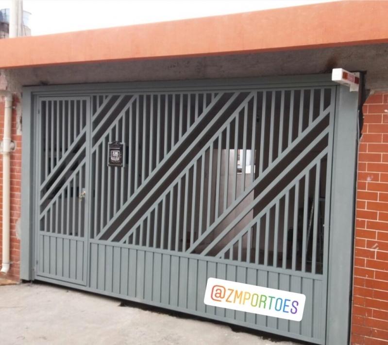 Fábrica de Portão de Garagem para Cotar Vila Ema - Fábrica de Portão para Indústria