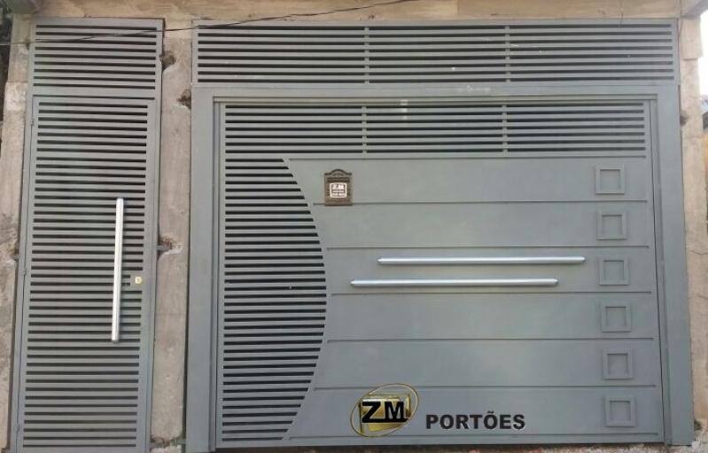 Fábrica de Portão de Garagem Jardim Iguatemi - Fábrica de Portão para Indústria