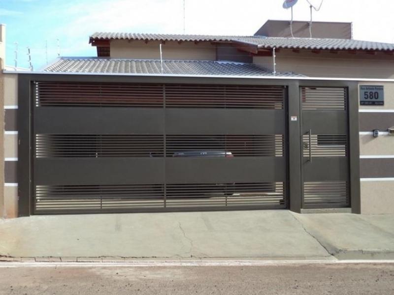 Fábrica de Portão para Condomínio para Cotar Guarulhos - Fábrica de Portão para Indústria