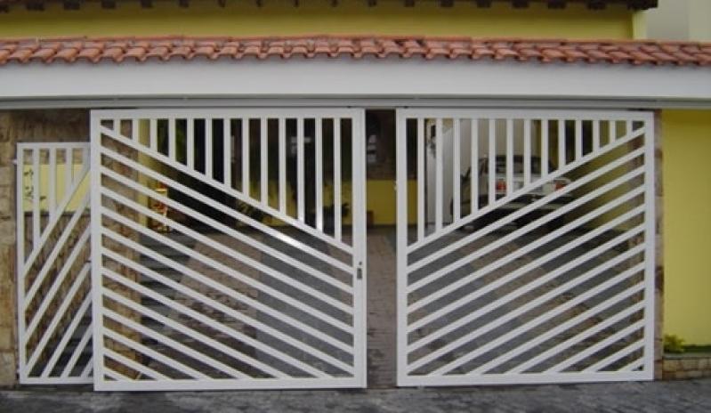 Fábrica de Portão para Condomínio Barueri - Fábrica de Portão para Indústria