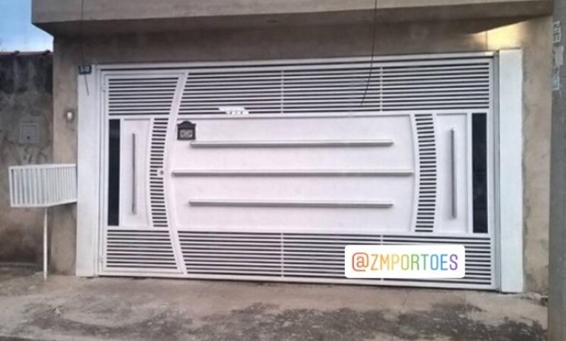 Fábrica de Portão para Cotar Água Funda - Fábrica de Portão para Indústria