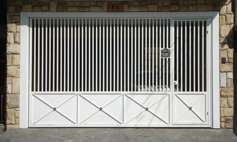 Fábrica de Portão para Garagem Automático Jockey Club - Fábrica de Portão para Indústria