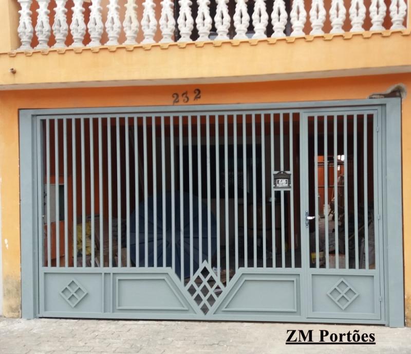Fábrica de Portão para Garagem São Domingos - Fábrica de Portão para Indústria