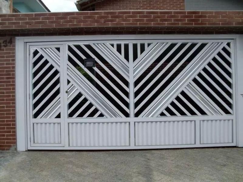 Fábrica de Portão para Residencia Raposo Tavares - Fábrica de Portão para Indústria