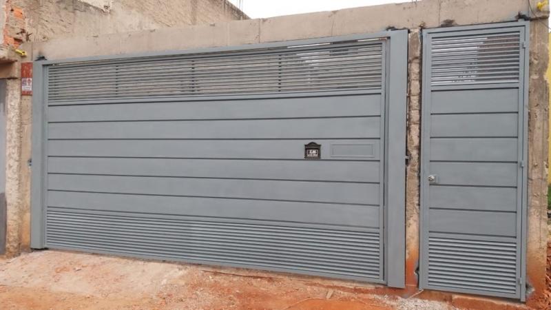 Fabricante de Portão Automático Horizontal para Cotação Vila Medeiros - Fabricante de Portão Automático Horizontal