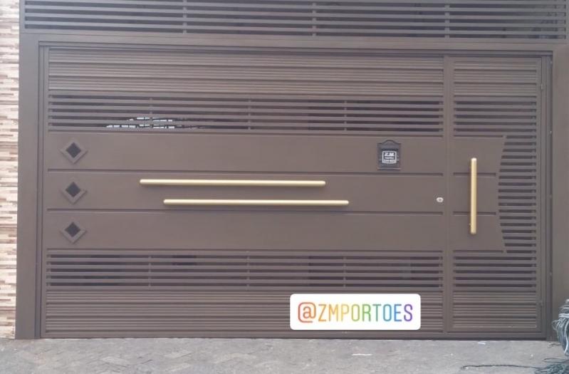 Fábricas de Portão de Garagem Jardim Colorado - Fábrica de Portão para Indústria