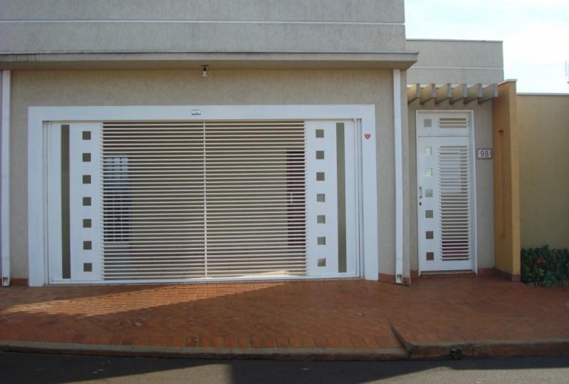Fábricas de Portão para Garagem Automático Vila Antonieta - Fábrica de Portão para Indústria