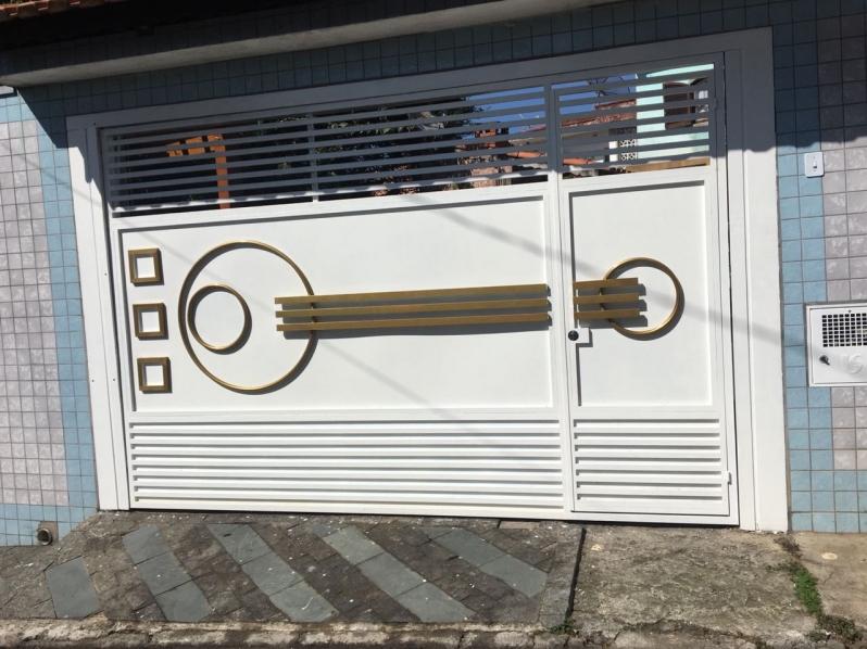 Fábricas de Portão para Garagem ABCD - Fábrica de Portão para Indústria