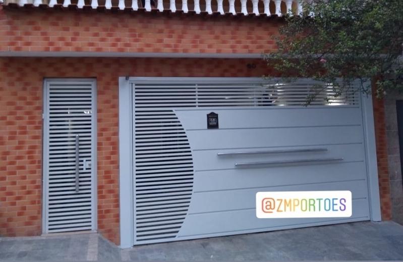 Fábricas de Portão Parque São Domingos - Fábrica de Portão para Indústria