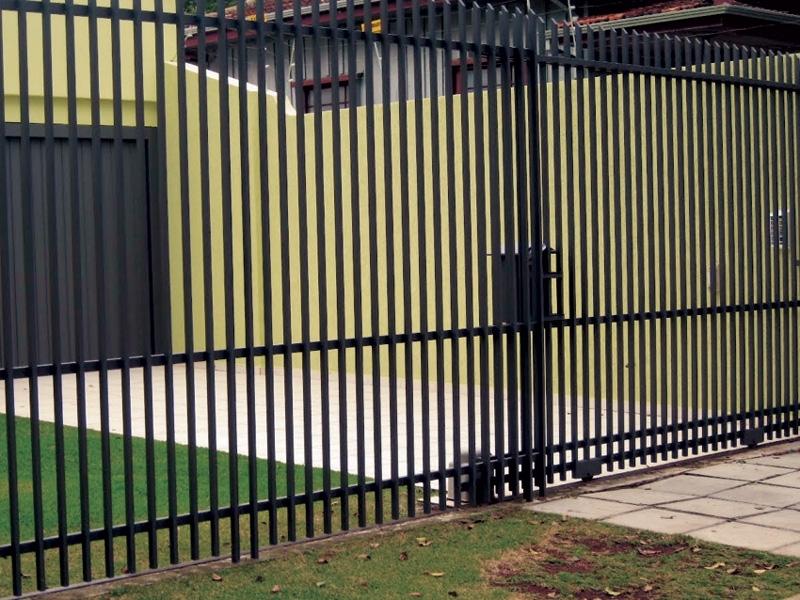 Instalação de Portão Eletrônico de Correr Duplo Diadema - Portão Eletrônico de Correr Duplo
