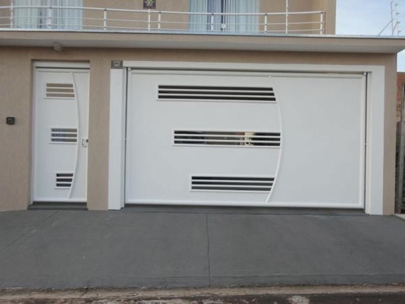 Instalação de Portão Eletrônico Duas Folhas de Abrir Jundiaí - Portão Eletrônico de Braço