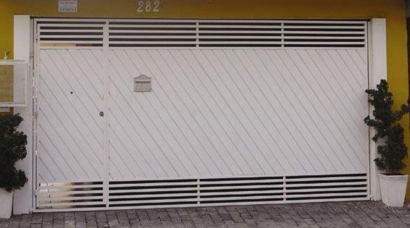 Instalação de Portão Eletrônico Ppa Fazenda da Juta - Portão Eletrônico de Correr Duplo