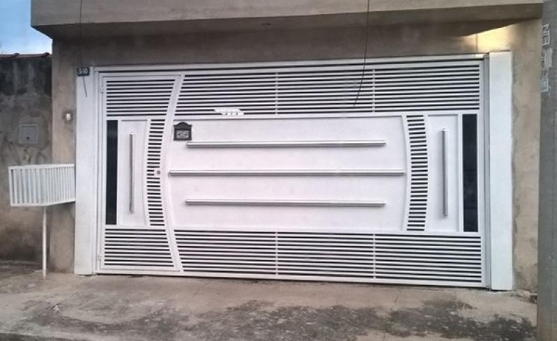 Manutenção de Portão Eletrônico Basculante Ferraz de Vasconcelos - Portão Eletrônico de Correr Duplo