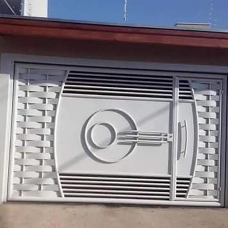 Manutenção de Portão Eletrônico de Braço Jardim Colorado - Portão Eletrônico Duas Folhas de Abrir