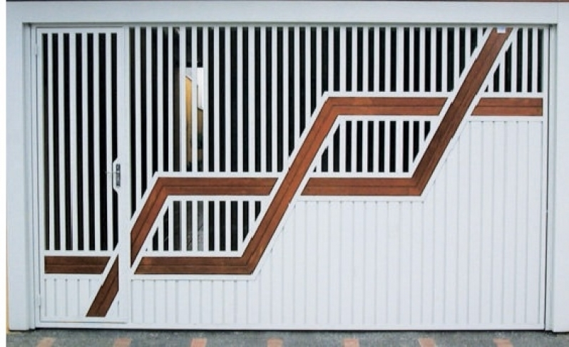 Manutenção de Portão Eletrônico de Garagem Vila Leopoldina - Portão Eletrônico Duas Folhas de Abrir