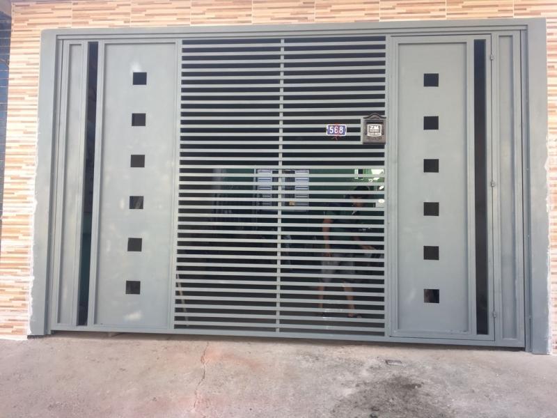 Onde Encontrar Empresa de Portão Automático para Garagem Poá - Empresa de Portão Automático Aço Galvanizado