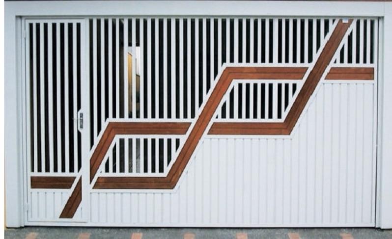 Onde Encontro Empresa de Portão Automático Aço Galvanizado Sé - Empresa de Portão Automático Basculante