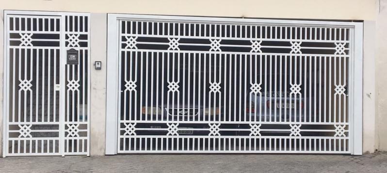 Onde Tem Fábrica de Portão para Garagem Pacaembu - Fábrica de Portão para Indústria