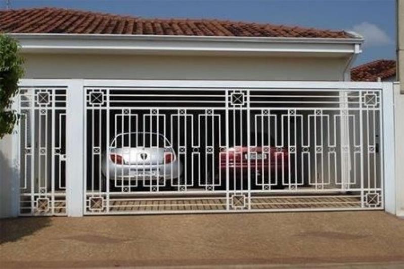 Portão Eletrônico de Correr Preço Carapicuíba - Portão Eletrônico Peccinnin