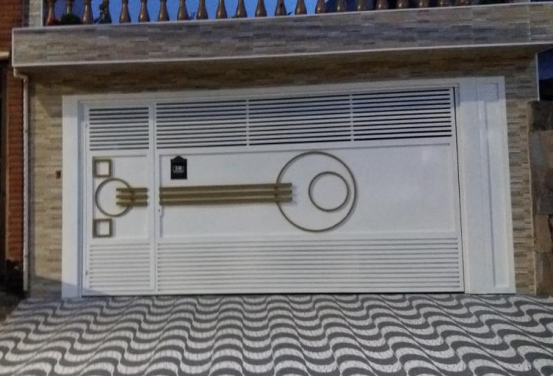 Portão Eletrônico de Motor Preço ABCD - Portão Eletrônico Galvanizado