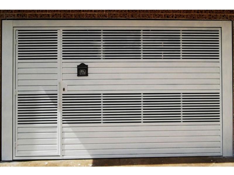 Portão Eletrônico Galvanizado Preço Bela Vista - Portão Eletrônico de Garagem
