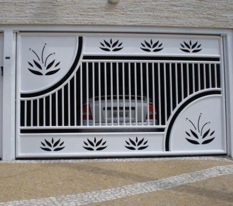 Portão Eletrônico Galvanizado Arujá - Portão Eletrônico Ppa