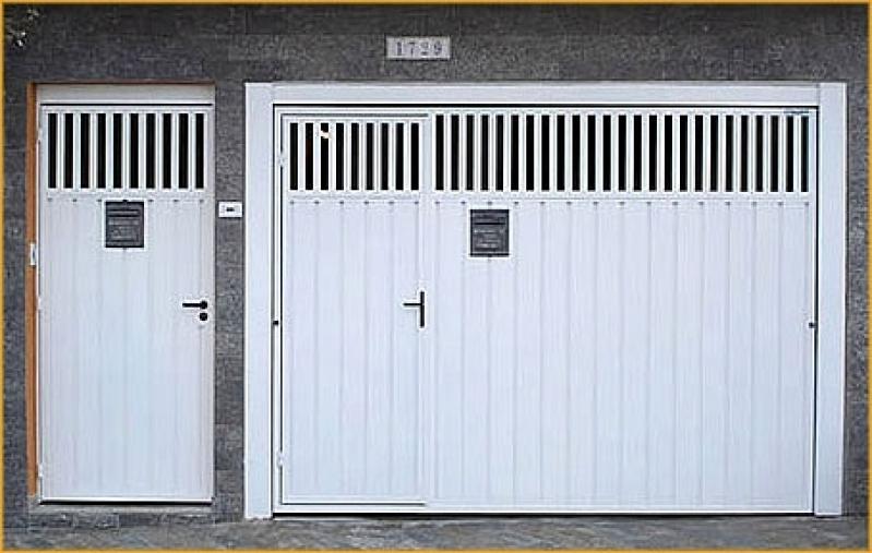 Portões de Ferro Chapa Ondulada Aricanduva - Portão de Ferro Basculante