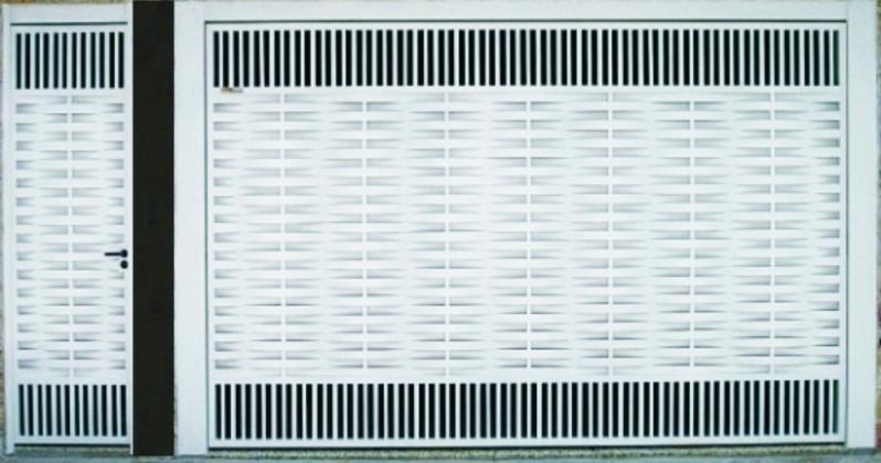 Portões Eletrônicos de Garagem Vila Curuçá - Portão Eletrônico de Correr Duplo