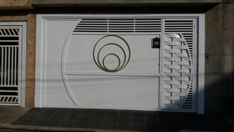 Portões Eletrônicos de Motor Vila Anastácio - Portão Eletrônico Duas Folhas de Abrir