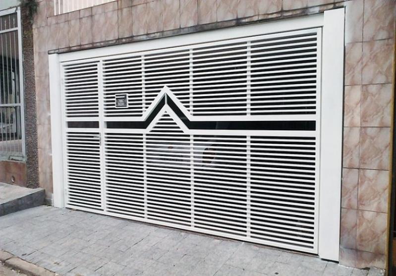 Portões Eletrônicos Jardim Bonfiglioli - Portão Eletrônico Galvanizado