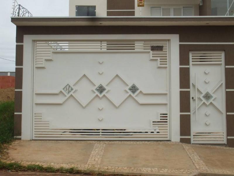Procuro Fábrica de Portão para Garagem Automático Santana de Parnaíba - Fábrica de Portão para Indústria