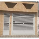 comprar portão articulado para garagem Tremembé