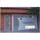 comprar portão automático branco melhor preço Vila Anastácio