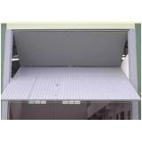 comprar portão basculante articulado para garagem valores Aricanduva