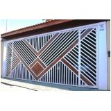 comprar portão basculante de ferro valores Cidade Tiradentes