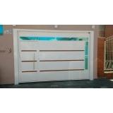 comprar portões automáticos para residência Vila Anastácio